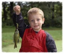 Does teaching a little boy how to fish really make a difference?