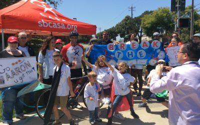 Four-day bike trek from Santa Barbara to Sacramento brings awareness to Child Abuse Prevention Month