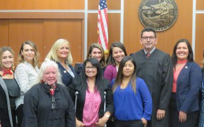 Fourteen New Child Advocates Sworn In in Santa Maria