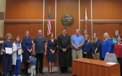 CASA Swears In 9 in Advocates for Child Abuse Prevention Month